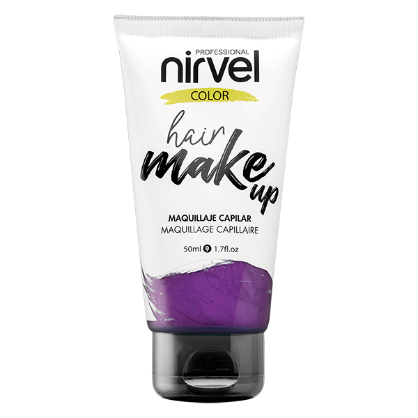 Hair make up purple