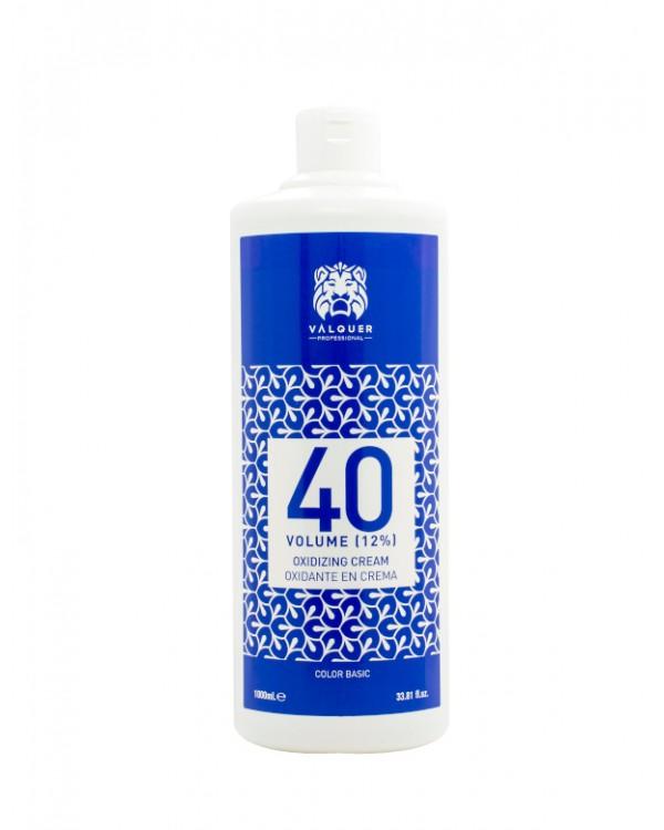 Oxidante En Crema 40 Vol (12%) - 1000 Ml. Válquer