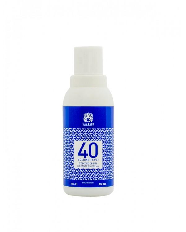 Oxidante En Crema 40 Vol (12%) - 75 Ml. Válquer