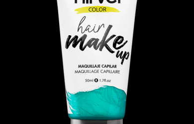 Hair make up turquoise