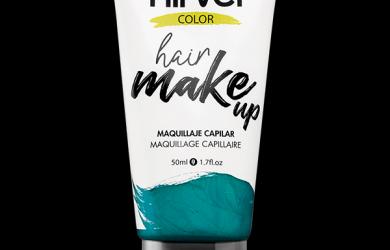 Hair make up aquamarine
