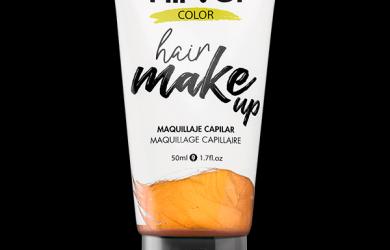 Hair make up golden