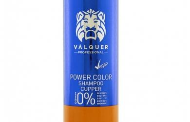 Champú Power Color Cobre - 400 Ml. Válquer
