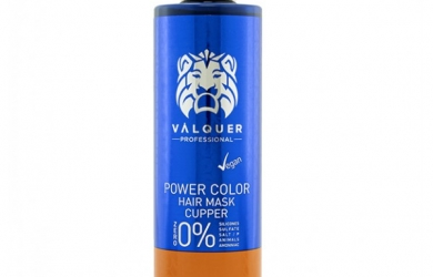 Mascarilla Power Color Cobre - 275 Ml. Válquer